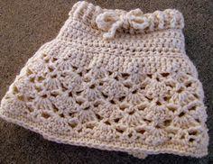 Baby-Toddler Skirt Crochet Pattern. $4.50, via Etsy.