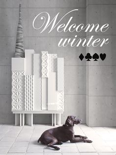 Welcome Winter by Lola Glamour #furniture