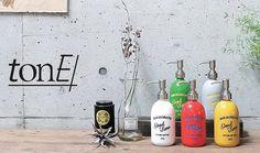 【楽天市場】トーン ローションボトル 5色 tone Lotion Bottle:メルシープレゼント 「雑貨屋」