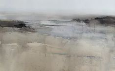 Beach at Le Croisic, France  #Paintings | #England | #ChrisRobinson #Watercolour #paintings