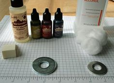 Life Made Creations: jewelry made from a washer and alcohol inks love it! must try! #ecrafty