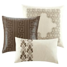 I pinned this 3 Piece Hampton Pillow Set from the Traditional Neutrals event at Joss and Main!