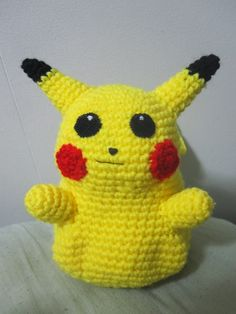 Amigurumi Pikachu (with pattern) By Mes Crazy Experiences