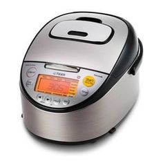 Tiger (Uncooked) Multi Purpose IH Cooker (Rice Cooker, Synchro-Cooker, Slow Cooker, Bread Maker, etc.) with Tacook Cooking Plate Rice Cookers Tiger Rice Cooker, Best Rice Cooker, Stainless Steel Rice Cooker, Black Stainless Steel, Slow Cooker Bread, Cooking Jasmine Rice, Induction Heating, Plates For Sale, Steamer Recipes