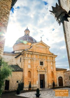 Chiesa Nuova Church - Assisi Italy — earthXplorer adventure travel photography