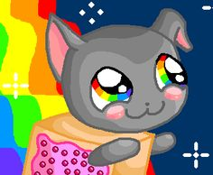 Nyan Cat Fsjal by Gladssinay123