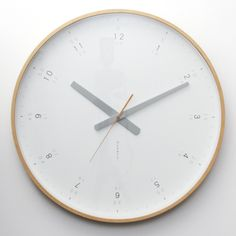 We absolutely love this modern wall clock!