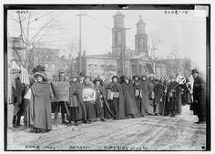 Rosalie Jones, Ida Craft - suffrage hikers (LOC) by The Library of Congress, via Flickr