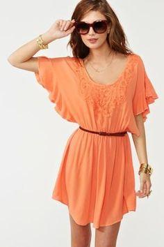 #orange dress  orange dresses #2dayslook #orange style #orangefashion  www.2dayslook.com