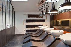 mogeen hair salon by dirk van berkel - designboom | architecture