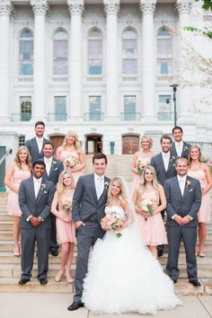 Wedding party photo idea {Maison Meredith Photography}