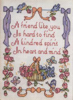 natty's cross stitch corner: flowers