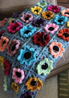 Priscillas: Crochet Flower Squares