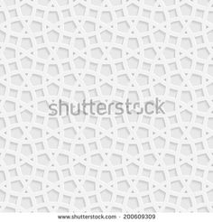 Traditional arabic tangled lattice pattern. Seamless vector background.