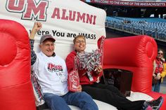 N. Illinois vs. UMass #Tailgate and #Football Game. Big Chair upgrade winners!