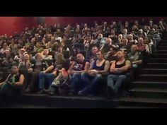 148 Bikers in a Movie Theater and only 2 seats left :D