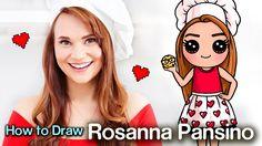 How to Draw Rosanna Pansino