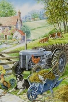 Old Tractor...Painting