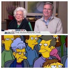 They seemed familiar
