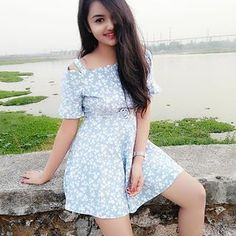 Image may contain: 1 person, standing, outdoor and water Stylish Girls Photos, Stylish Girl Pic, Beautiful Girl Photo, Beautiful Girl Indian, Girl Number For Friendship, Preety Girls, Indian Girl Bikini, Cute Girl Dresses, Indian Girls Images