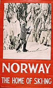 Norway - The Home of Ski-ing  by	Neupert  c.1935