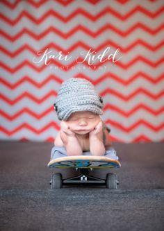 newborn skateboard photo - Google Search