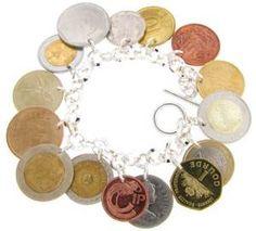 14K Gold Coin Bracelet - Bing Images