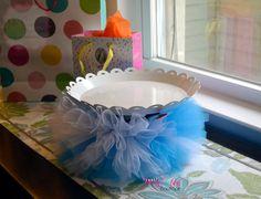 Alice In Wonderland Cake Stand Tutu- Handmade Party Decorations by TutuAmaezingBoutique on Etsy https://www.etsy.com/listing/232183657/alice-in-wonderland-cake-stand-tutu