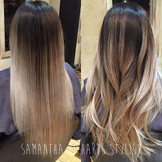 Straight or wavy??#balayagehighlights #ombre #olaplex #hair #hairstylist #handpainted #hairpainting #ecaille #btcpics #btcapproved #modernsalon #lahair #nofilter #burbank #caramel #beforeandafter #beverlyhills #blondehair #brunette #losangeles #hairextensions #platinumhair #blonde #beverlyhillshair #balayage #ombre #balayageombre @modernsalon @americansalon @mermaidians #merdaidians @hotonbeauty @findyourhairstylist #ochair #transformationtuesday #behindthechair_com
