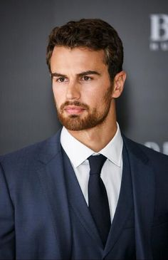 Theo at the Hugo Boss launch today