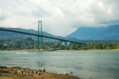 Lions Gate Bridge in Stanley Park: Vancouver Canada. Such a beautiful area.