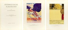 Österreichische Plakatkunst, by Ottokar Mascha. ca. 1915 Black And White Illustration, Klimt, Posters, Art, Poster, Pictures, Kunst, Postres, Banners