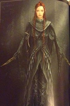 Tauriel was great in the movie but I would have liked to se this design.