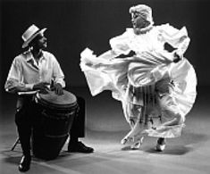 Bomba- Puerto Rican Folkloric Tradition. Bomba is thought to have derived from West African and/or Congolese slaves who were brought to Puerto Rico.