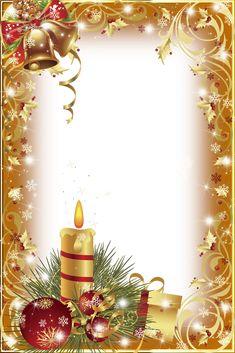 Gold Transparent Christmas Photo Frame/Many Frames Christmas Border, Christmas Frames, Christmas Scenes, Noel Christmas, Christmas Clipart, Christmas Background, Christmas Paper, Christmas Wallpaper, Christmas Printables