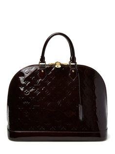 28f8af722a1a Louis Vuitton Amarante Monogram Vernis Alma GM Vintage Handbags