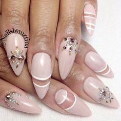 ♥Stiletto Nail Art slimmingbodyshapers.com   #slimmingbodyshapers