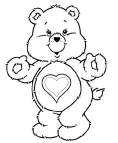 care bear coloring pages google search - Care Bears Coloring Pages