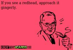 Funny Redhead Cartoon Ecards 3