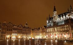 Grand' Place Bruxelles - Brussel Grote Markt - Brussels (by Sir Francis Canker Photography ©)