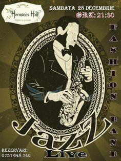 Jazz Night cu Muzica Live alaturi de Fashion Band