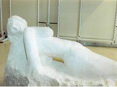Felice Tagliaferri, Nascita dalla pietra, Pietra di Vicenza, 2002