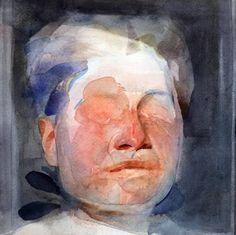 "Saatchi Art Artist Benjamin Björklund; Painting, ""Moon"" #art"