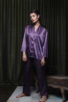 Sexy Pajamas, Satin Pajamas, Pajamas Women, Pyjamas, Satin Lingerie, Silk Material, Satin Blouses, Satin Dresses, Pajama Set