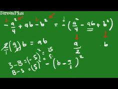 Factorización de un trinomio cuadrado perfecto