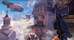 Image result for bioshock infinite airship