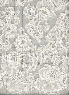 Alencon Lace ~ Amy's Rose Pattern