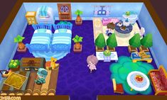 You can even customize your own room and invite other people over!