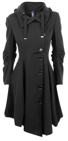 Black coat. Want.