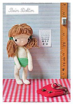 Meine Lieblingspuppe zum Häkeln: Mit 45 Accessoires und einem Koffer: Amazon.de: Isabelle Kessedjian: Bücher